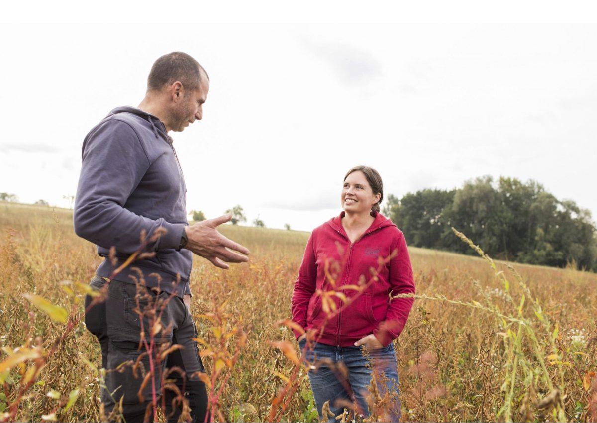 ドイツで大豆の栽培と品種改良