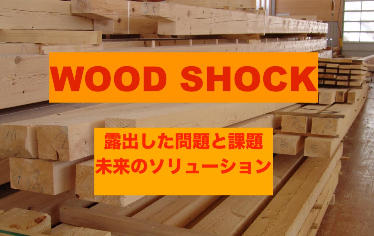 オンラインセミナー Wood Shock